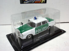MERCEDES 200 POLIZEI GERMAN POLICE 1960 1/43 IXO ALTAYA