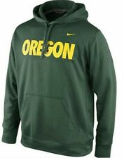 "Nike Oregon Ducks College Pullover Perf. Green *Free Shipping in USA* ""Large"""