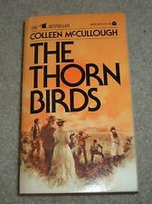 1978 THE THORN BIRDS Colleen McCullough Cleary Family Australian Outback pb
