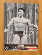 Tommy Kono 2012 Panini Americana Silver Parallel Proof Base Card #D 7/50