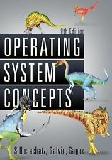 Brand New! Operating System Concepts by Silberschatz Galvin Gagne 8th US Edition
