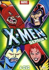 X-Men xmen x men Season 3 4 x DVD Set marvel orginals REGION 2 NEW SEALED