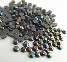 1440pcs Hot Fix Iron-On Rhinestones Jet AB Beads SS16 Crystal AB 4mm