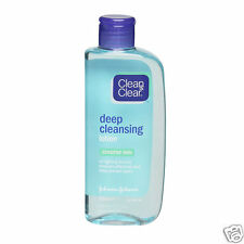 Clean & Clear Deep Cleansing Lotion for Sensitive Skin Help Prevent Spots 200ml