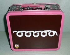 HOSTESS CUPCAKE Squiggly Line LUNCHBOX 2007 ERROR Box Upside Down Panel Back
