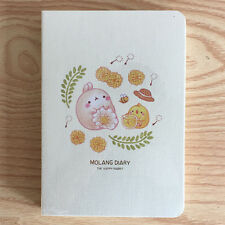 [Honey Blossom] Molang Ver.4 Diaries Planner Journal Scheduler Rabbit Kawaii