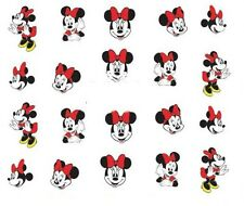 Nail Art Decals Transfers Stickers Minnie Mouse (DA369)