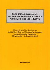 Farm Animals in Research Meeting Demands of Ethics Welfare Science Industry