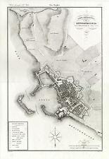 Carta topografica di Civitavecchia. Zuccagni e Orlandini 1835/45