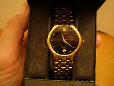 Vintage Seiko Pulsar Mens Gold Tone Quartz Watch