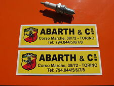 ABARTH 695 Autocollant FIAT 500 ZAGATO stickers set