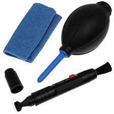 3 in 1 Sensor Cleaning Kit Rocket Blower Lens Pen Cleaning Cloth UK Seller