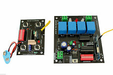 4 Channel Remote Control Board -433Mhz,Control 2 DC Motors CW-CCW for Robot