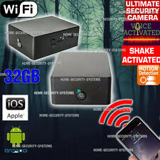 IP Camera Home Security System WIFI Car Anti Theft Motion Voice Activated no SPY