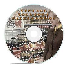 VINTAGE COCA COLA 40's - 50's SALES PROMOTIONAL PROMO ADS, FILMS DVD-J39