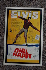 Elvis Lobby Card Movie Poster Girl Happy