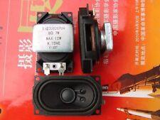 2pcs 40*70MM 8Ohm 8Ω 7~12W Neodymium Full-range Audio Speaker Loudspeaker For LG