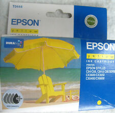 Epson T0444 Yellow Ink Hi-Capacity Cartridge Genuine NEW C64,CX3600,CX3650.Etc.