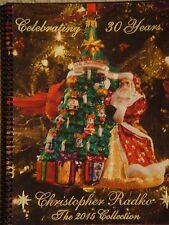 RADKO 2015 CATALOG - ITEM PRICES IN THE CATALOG - 154 COLOR PAGES - SPIRAL BOUND
