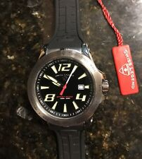 NEW Men's Swiss Legend Sprint Racer Black / Gunmetal Dive Watch 330ft (5I)