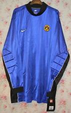 RETRO BNWT BORUSSIA DORTMUND NIKE 1990's BLUE GOALKEEPER SHIRT XXL MENS GB 47/48