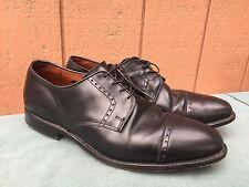 EUC Allen Edmonds Clifton Blucher Oxford Shoes 3308 Black Leather US SZ 11