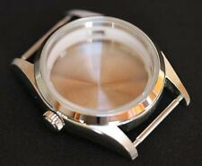 Stainless steel watch case custom build polished explorer homage ETA 2824 case