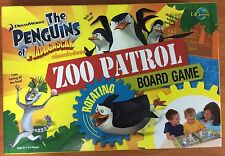 2011 Board Game - Zoo Patrol The Penguins of Madagascar - 100% Complete