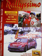 Rallyssimo 78 2003 Loeb e Citroen dominano il 'Monte'. Mitsubishi trionfa [Q103]