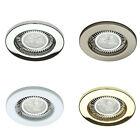 10 X GU10 MAINS 240 VOLT HALOGEN LED RECESSED DOWNLIGHT SPOTLIGHT DOWNLIGHTER