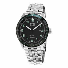 Oris Men's Artix Limited Edition Black Dial Swiss Automatic Watch 73577064494SET