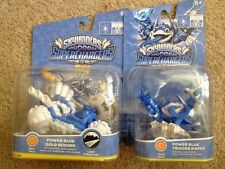 Skylanders Supercharger Power Blue Gold Rush Trigger Happy Lot Of 2