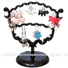 Display Jewelry Tree Stand Holder Rack Earring Stud Necklace Ring Orangizer New