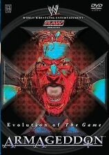 WWE - Evolution of the Game: Armageddon (DVD, 2004) Free Shipping! NEW!