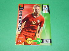 RAUL MEIRELES PORTUGAL PANINI FOOTBALL CARD FIFA WORLD CUP 2010  ADRENALYN XL