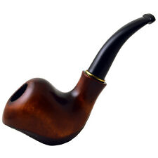 5,51'' (14cm) *Wave* Carved wooden smoking pipe. Best smoking pipes.