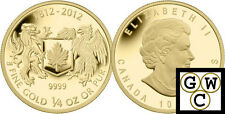 2012 Gold 'War of 1812' 1/4oz $10 Pure Gold Coin .9999 Fine *No Tax (12999)