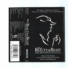 Beauty and the Beast [Original Broadway Cast Recording] (Cassette) NEW Sealed