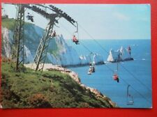 POSTCARD ISLE OF WIGHT THE NEDDLES & ALUM BAY CHAIRLIFT