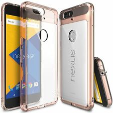 Google Nexus 6P Clear case [Ringke Fusion] TPU Shockproof Protective