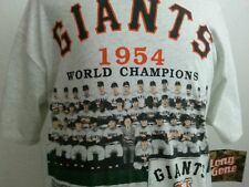 Nwt Long Gone Vintage San Francisco Giants1954 Baseball Jersey T-Shirt Large 93