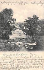 Bad Landeck Bielepartie Schlesien Postkarte gel. 1902