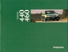 Volvo 440 & 460 1995-96 UK Market Sales Brochure Base S Si SE GLT CD