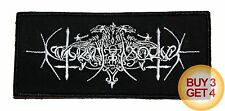 NOKTURNAL MORTUM WT PATCH,BUY3GET4,ULVER,WINDIR,KRODA,DRUDKH,GRAVELAND,ARKONA