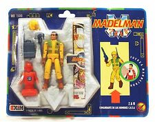 """1989 Exin 3-3/4"""" Madelman 2050 ZAN G2 action figure Mint On Card MOC Ref. 1500"""
