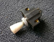 BAKELITE IVORY KL SWITCH PORSCHE 356 PRE A DASH BOARD ON OFF PULL - NOS