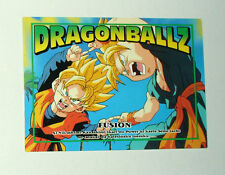 CARTE CARD CARDDASS  DRAGON BALL Z MADE IN JAPAN  N°75 FUSION