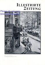 Der Frühling ist da XL Kunstdruck 1930 Friseur Krause Kurze Straße Großstadt  +
