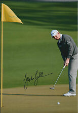 Stephen GALLACHER SIGNED Autograph 12x8 Photo AFTAL COA 2014 US MASTERS Golf