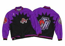 TORONTO RAPTORS Mitchell & Ness NBA Authentic Warmup Jacket Sz 48